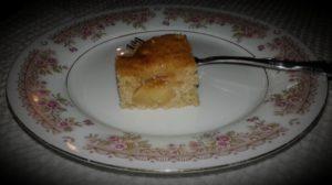 Rye Apple Cake